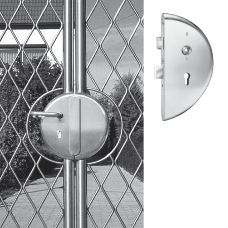 Locks and strike-plate systems Gates